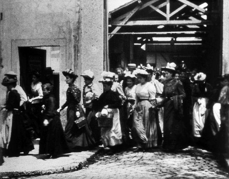 1895: Fábrica Lumière