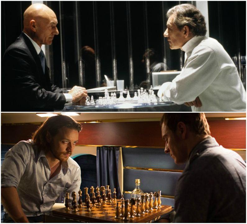 4. Professor Xavier e Magneto