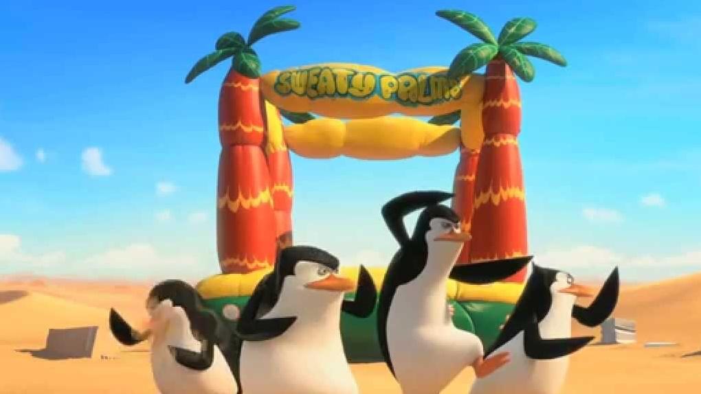 Os Pinguins De Madagascar (15h10 - Globo)