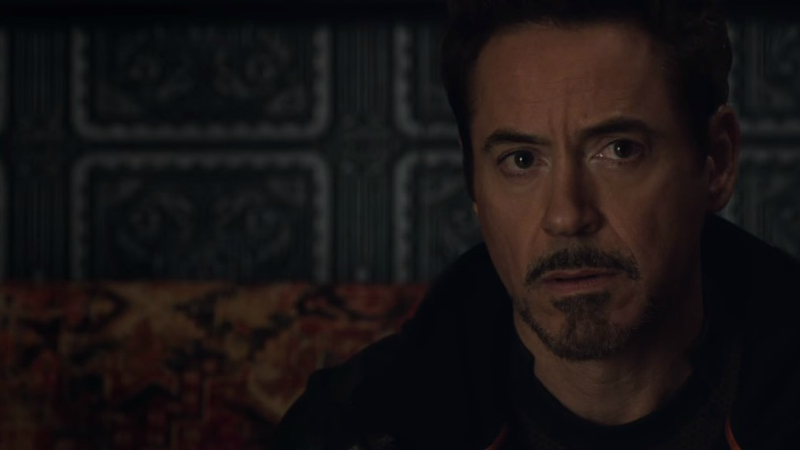 Tony, atônito