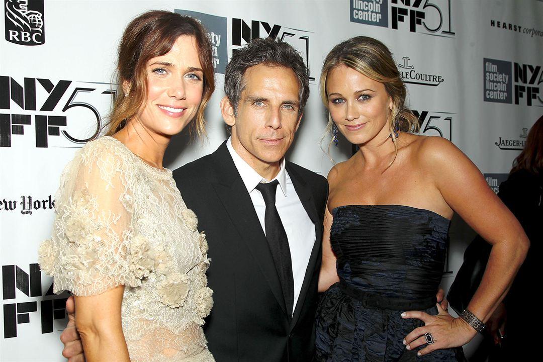 A Vida Secreta de Walter Mitty : Vignette (magazine) Ben Stiller, Christine Taylor, Kristen Wiig