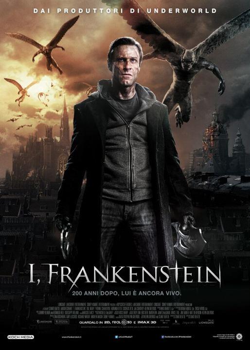 o filme frankenstein entre anjos e demonios