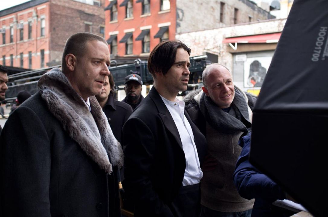 Um Conto do Destino : Foto Akiva Goldsman, Colin Farrell, Russell Crowe