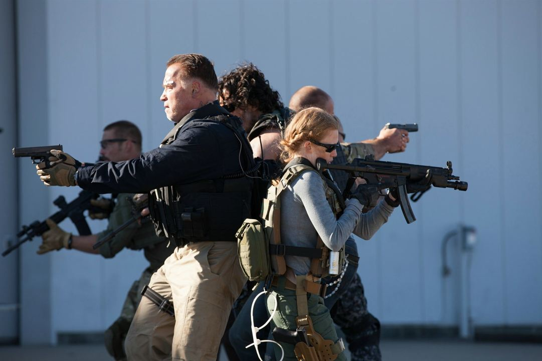Sabotage : Foto Arnold Schwarzenegger, Mireille Enos
