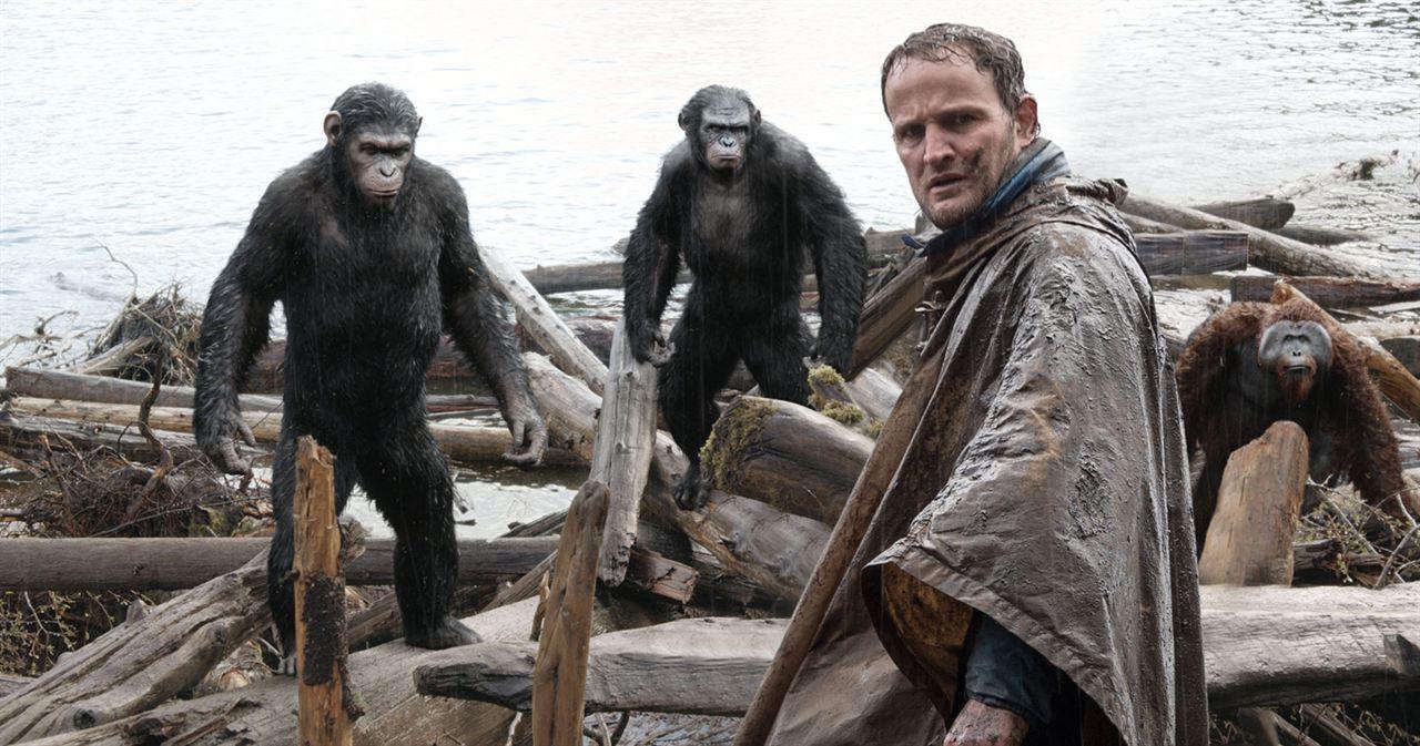 Planeta dos Macacos: O Confronto : Foto Jason Clarke