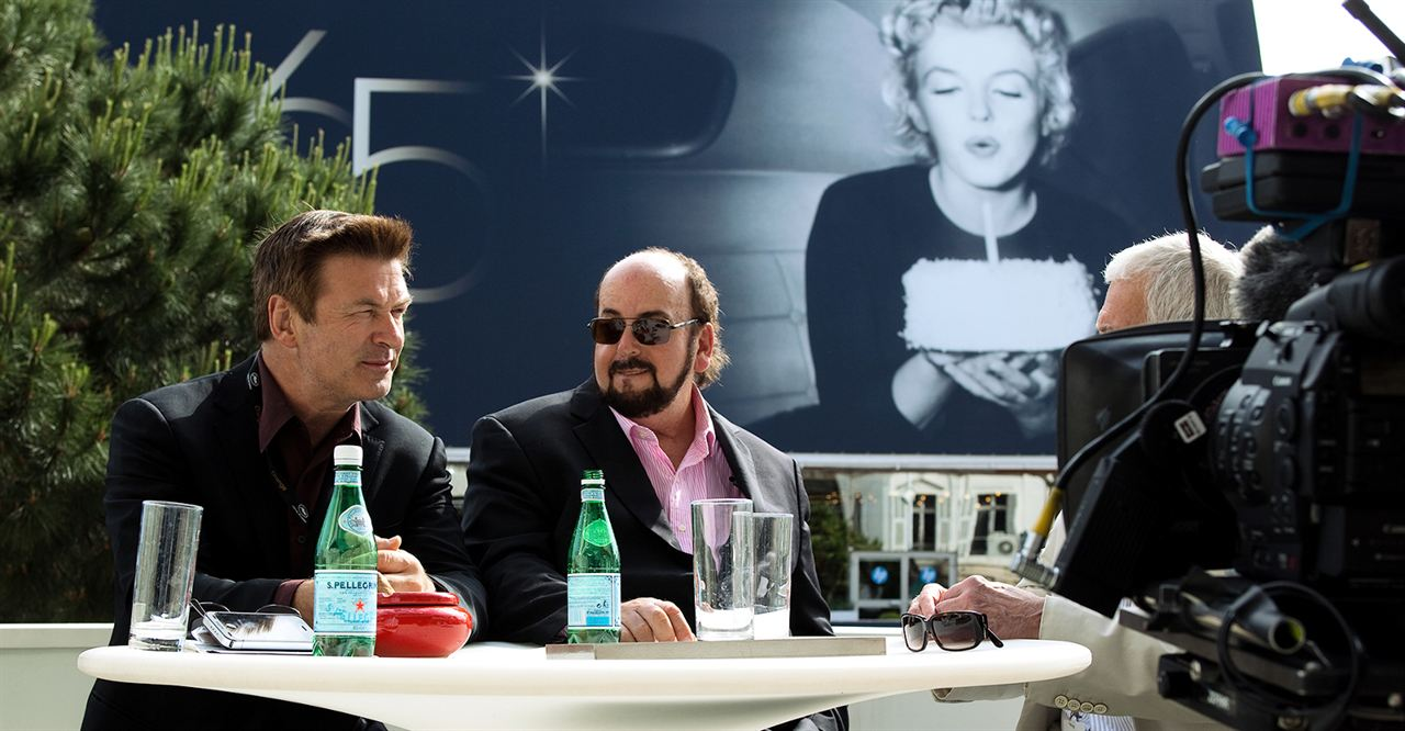 Seduzido e Abandonado - Os Bastidores de Cannes : Foto Alec Baldwin, James Toback