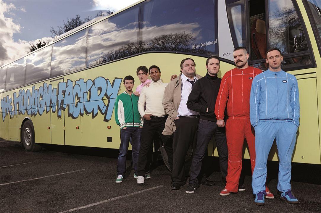 Fábrica de Hooligans : Foto Jason Maza, Josef Altin, Nick Nevern, Ray Fearon, Steven O'Donnell