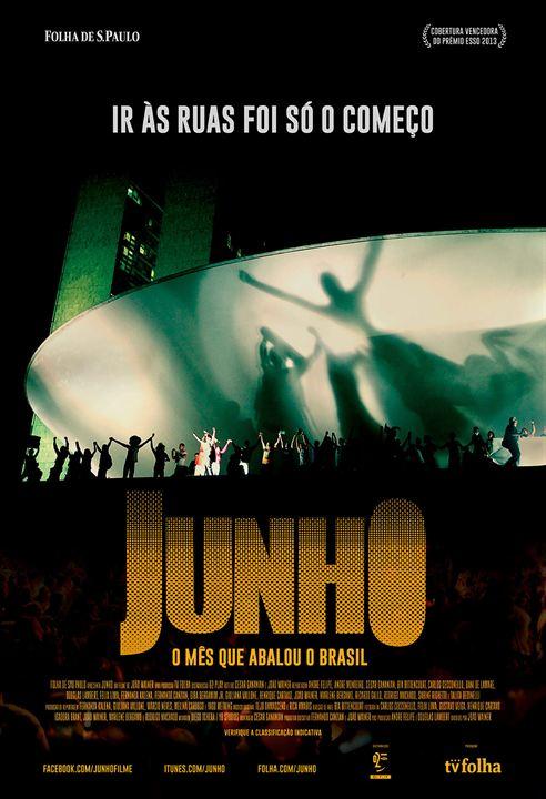 Junho - O Mês que Abalou o Brasil : Poster