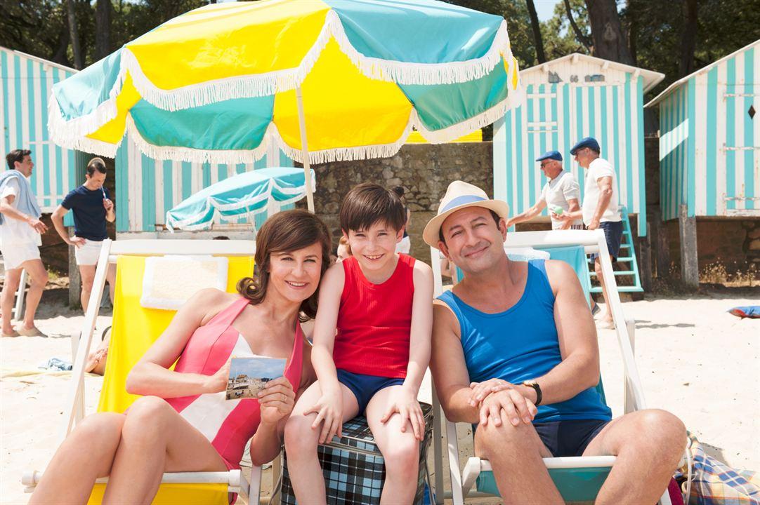 As Férias do Pequeno Nicolau : Foto Kad Merad, Mathéo Boisselier, Valérie Lemercier