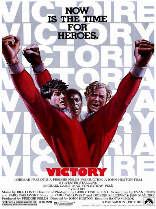 Fuga para a Vitória : Poster