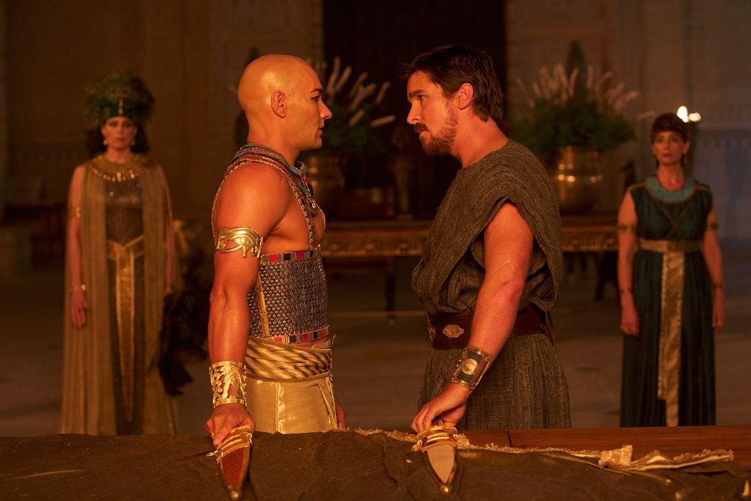 Êxodo: Deuses e Reis : Foto Christian Bale, Joel Edgerton