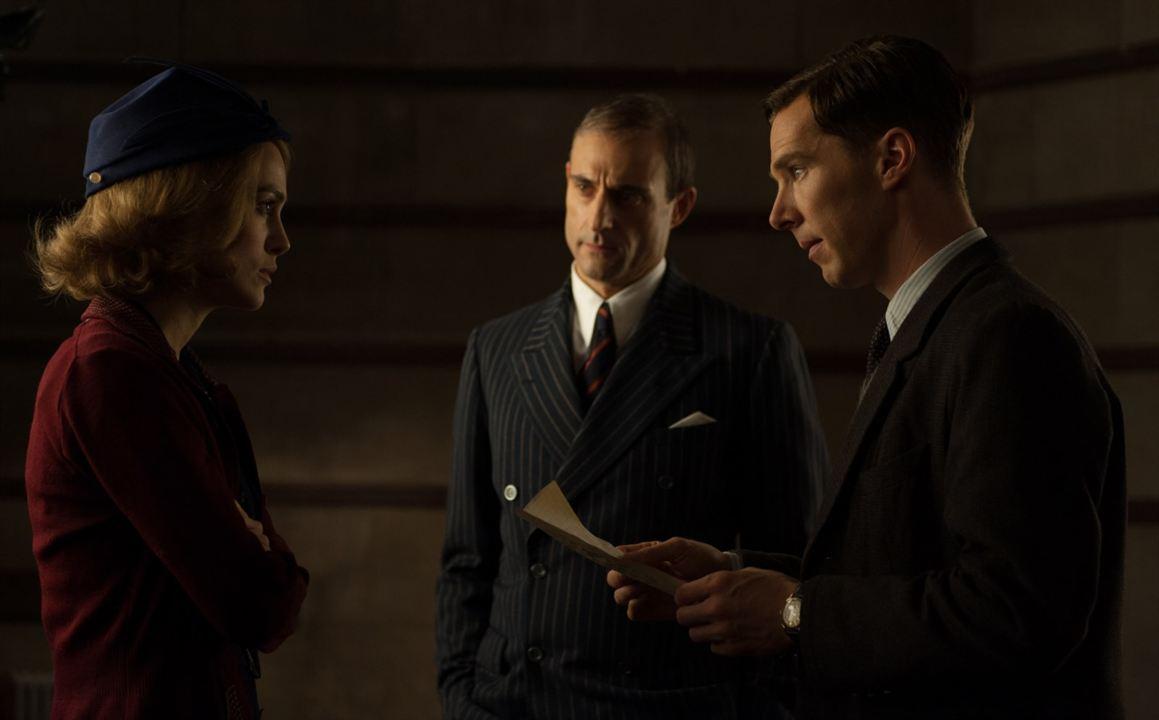 O Jogo Da Imitação : Foto Benedict Cumberbatch, Keira Knightley, Mark Strong