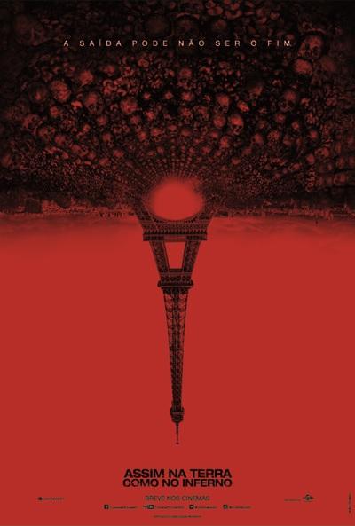 Assim na Terra Como no Inferno : Poster