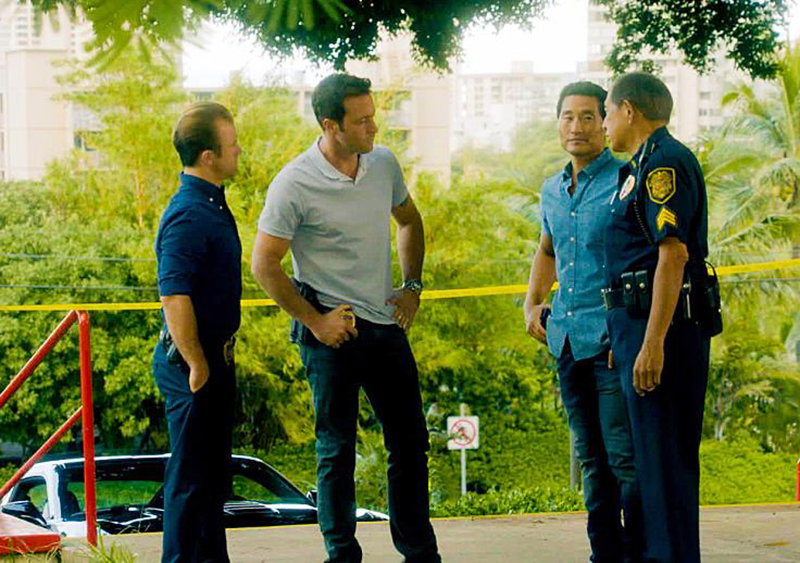 Foto Alex O'Loughlin, Daniel Dae Kim, Scott Caan