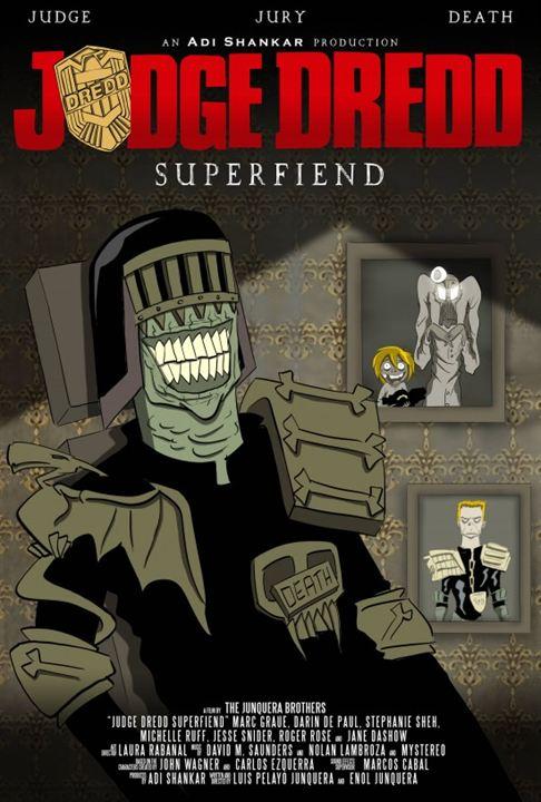 Judge Dredd: Superfiend : Poster