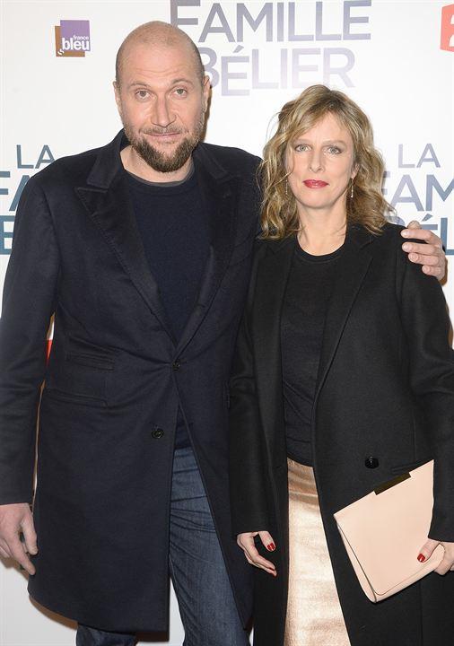 A Família Bélier: Karin Viard, François Damiens