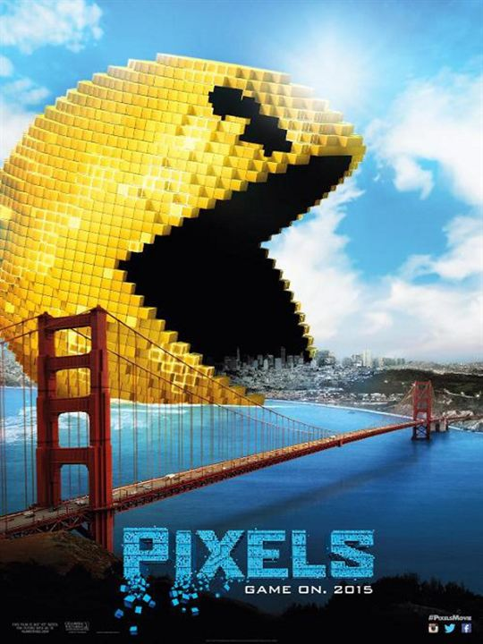 Pixels : Poster