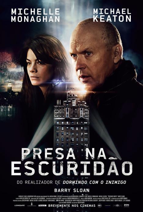 Presa na Escuridão : Poster