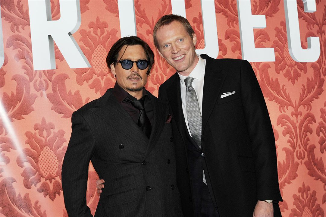 Mortdecai - A Arte da Trapaça : Vignette (magazine) Johnny Depp, Paul Bettany