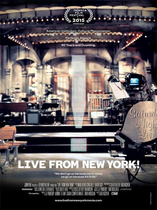 Live From New York! : Poster