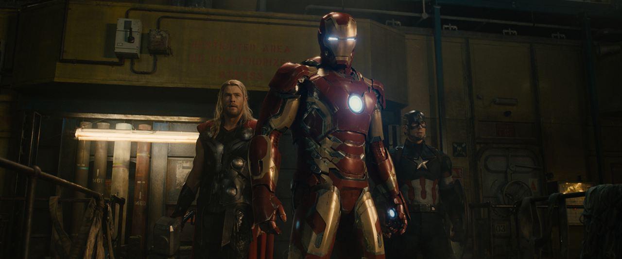 Vingadores: Era de Ultron : Foto Chris Evans, Chris Hemsworth