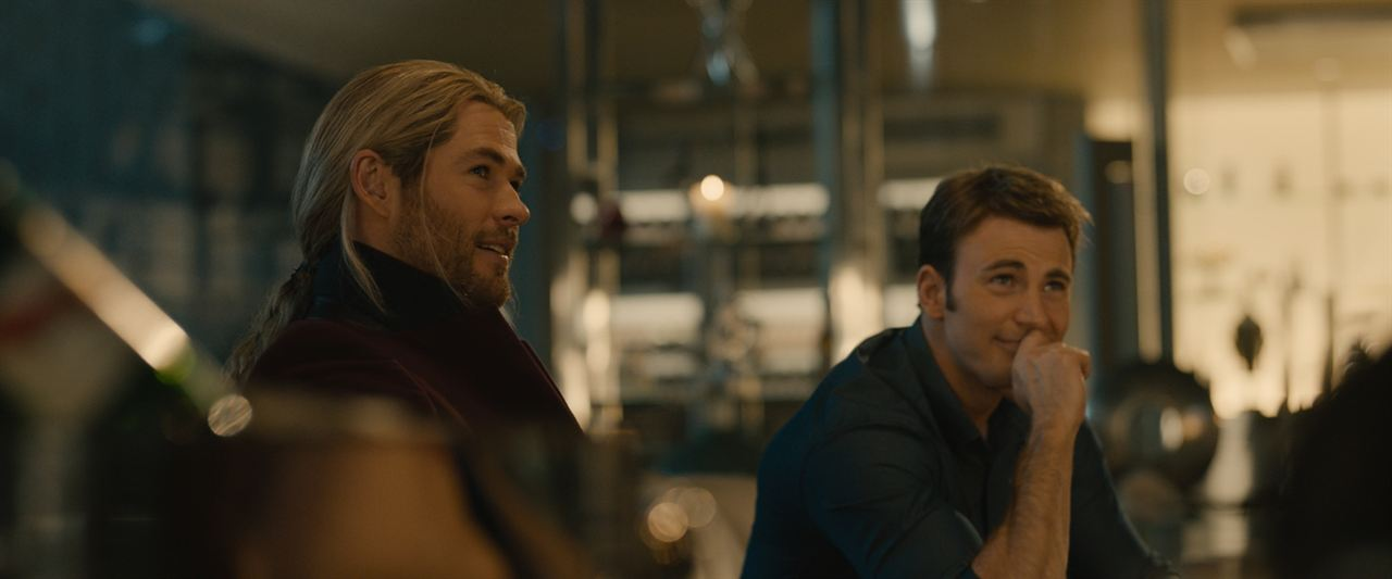 Vingadores: Era de Ultron : Foto Chris Evans, Chris Hemsworth