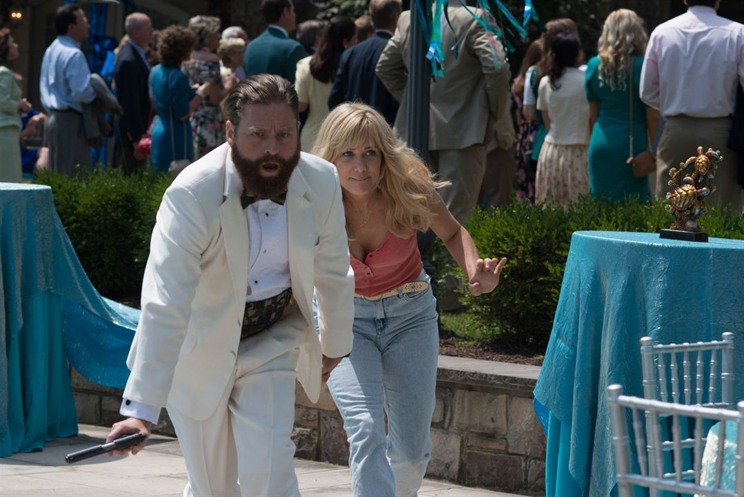 Gênios do Crime : Foto Kristen Wiig, Zach Galifianakis