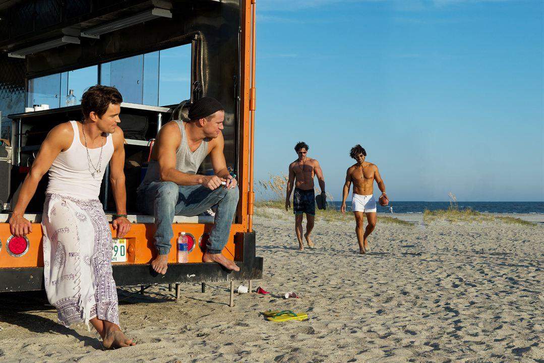 Magic Mike XXL : Foto Adam Rodriguez, Channing Tatum, Joe Manganiello, Matt Bomer