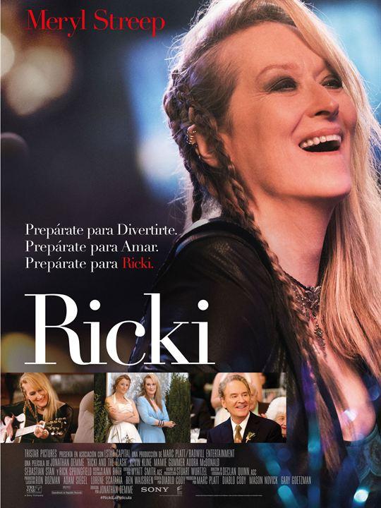 Ricki and the Flash – De Volta pra Casa : Poster