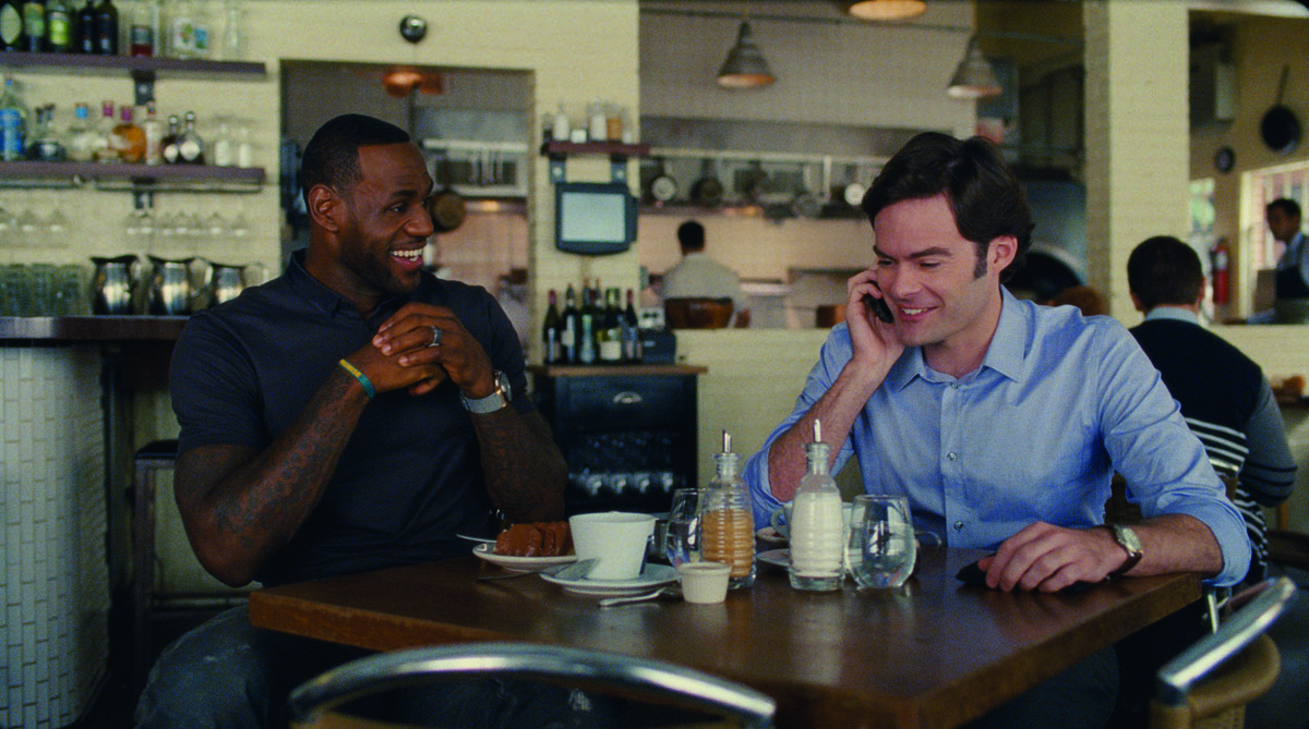 Descompensada : Foto Bill Hader, LeBron James