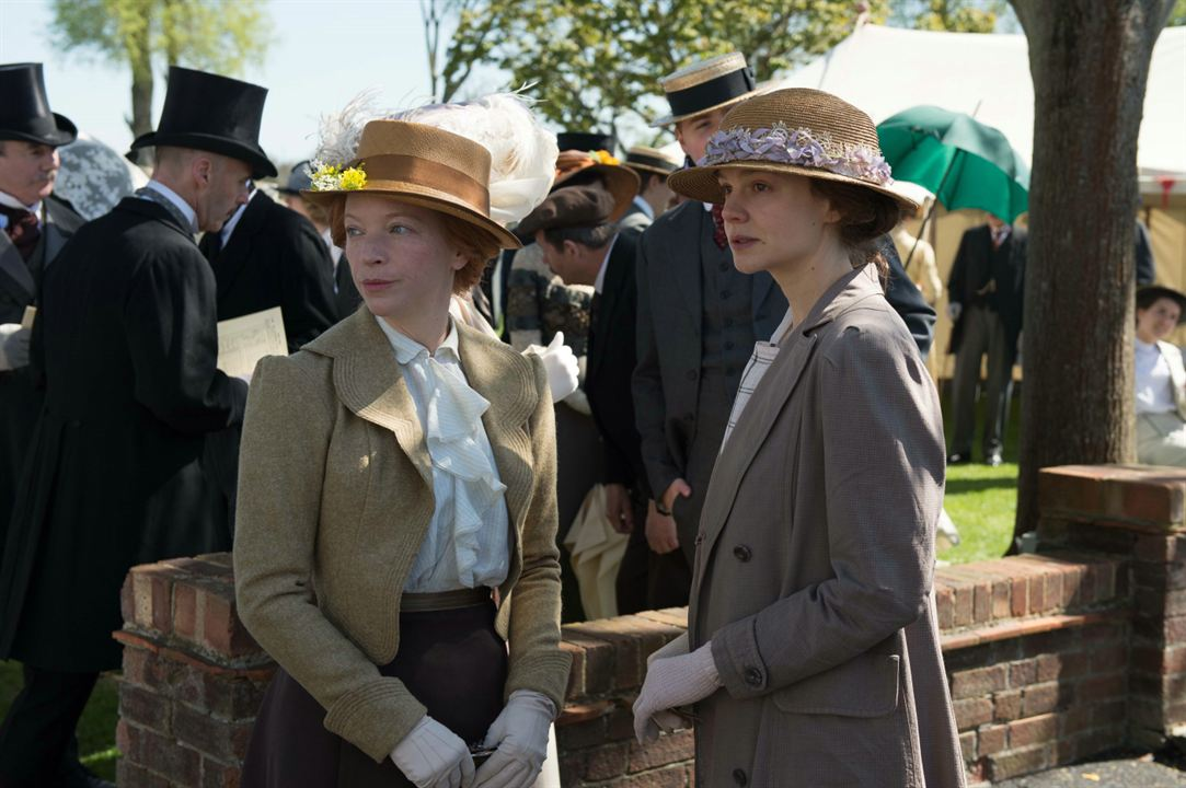As Sufragistas: Carey Mulligan, Natalie Press