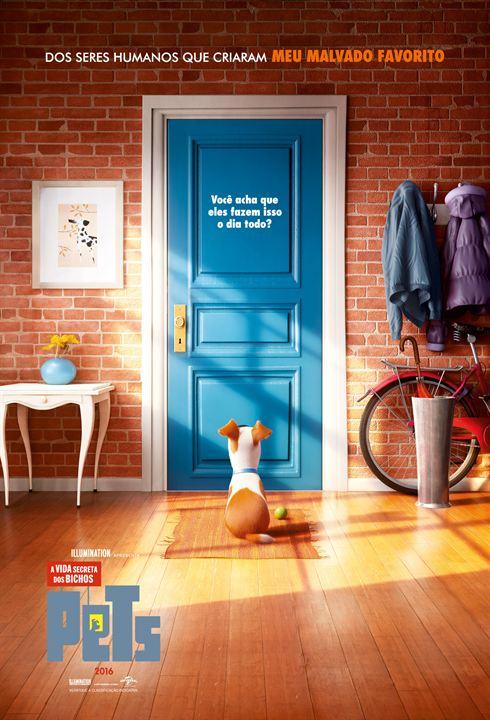 Pets - A Vida Secreta dos Bichos : Poster