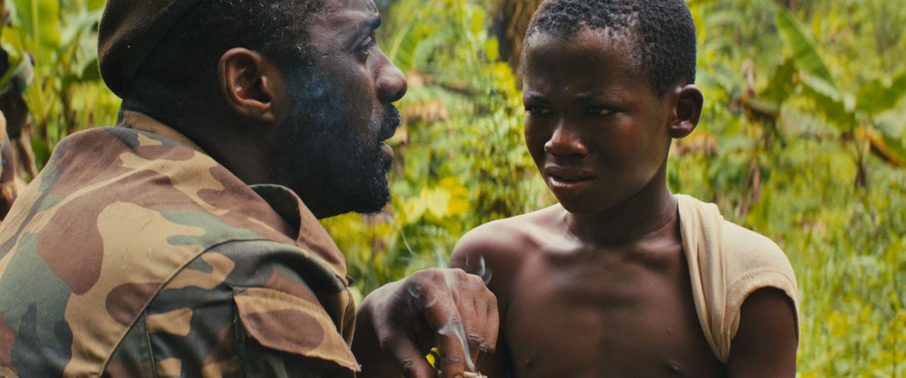 Beasts of No Nation : Foto Abraham Attah, Idris Elba
