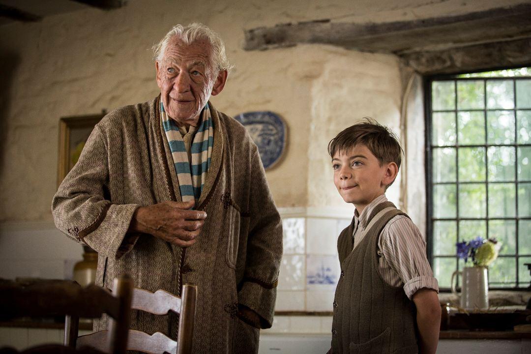 Sr. Sherlock Holmes : Foto Ian McKellen, Milo Parker