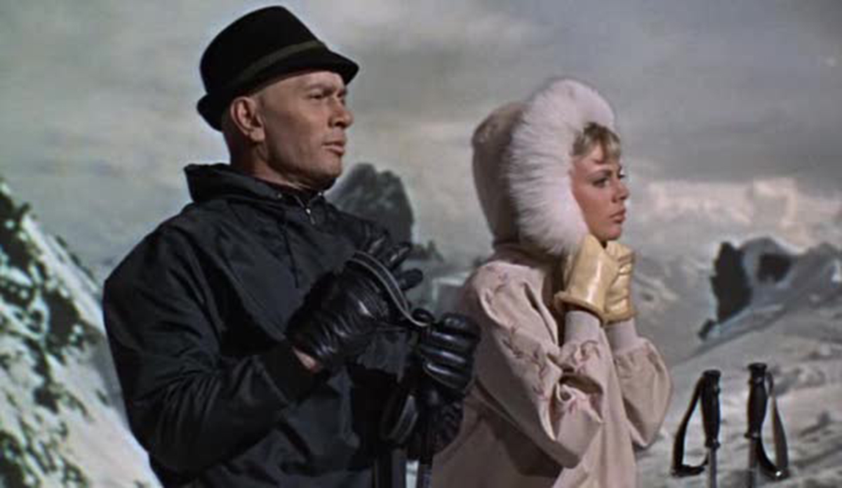 The Double man : Photo Moira Lister, Yul Brynner