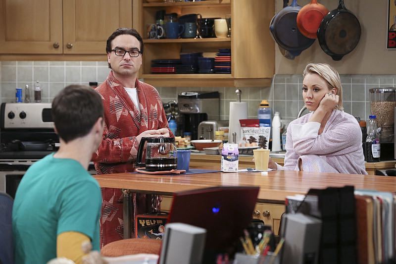 Foto Jim Parsons, Johnny Galecki, Kaley Cuoco