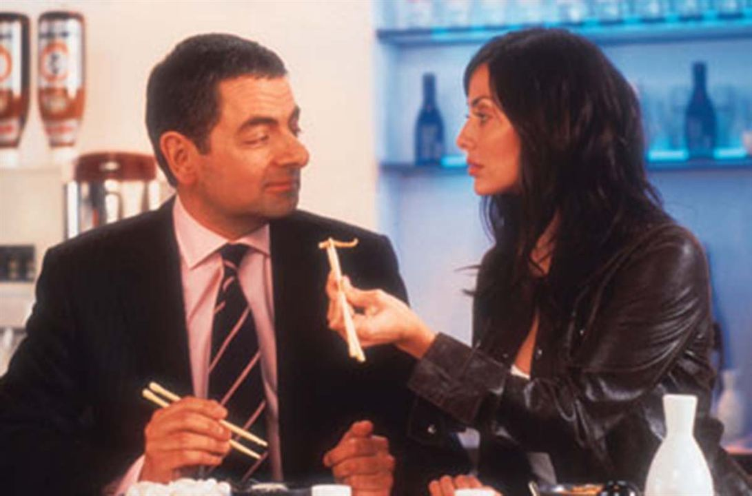 Johnny English : Foto Natalie Imbruglia, Rowan Atkinson