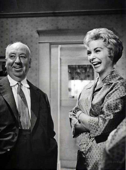 Psicose : Foto Alfred Hitchcock, Janet Leigh