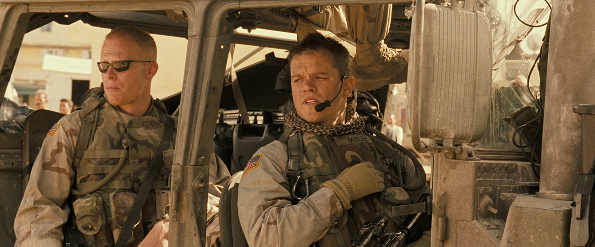 Zona Verde : Foto Matt Damon
