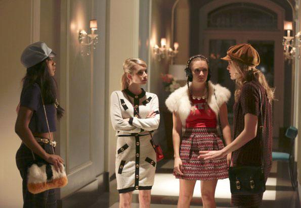 Foto Billie Lourd, Emma Roberts, Keke Palmer, Skyler Samuels