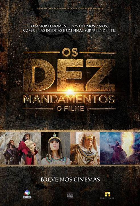 Os Dez Mandamentos - O Filme : Poster