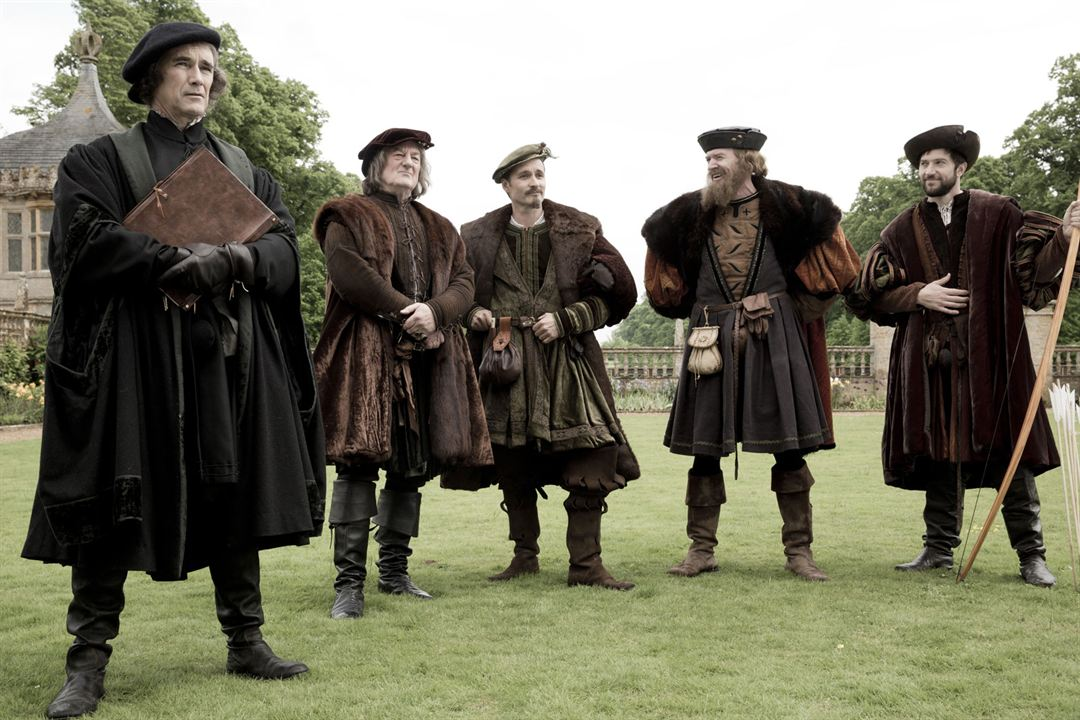Foto Alastair Mackenzie, Bernard Hill, Luke Roberts, Mark Rylance, Richard Dillane