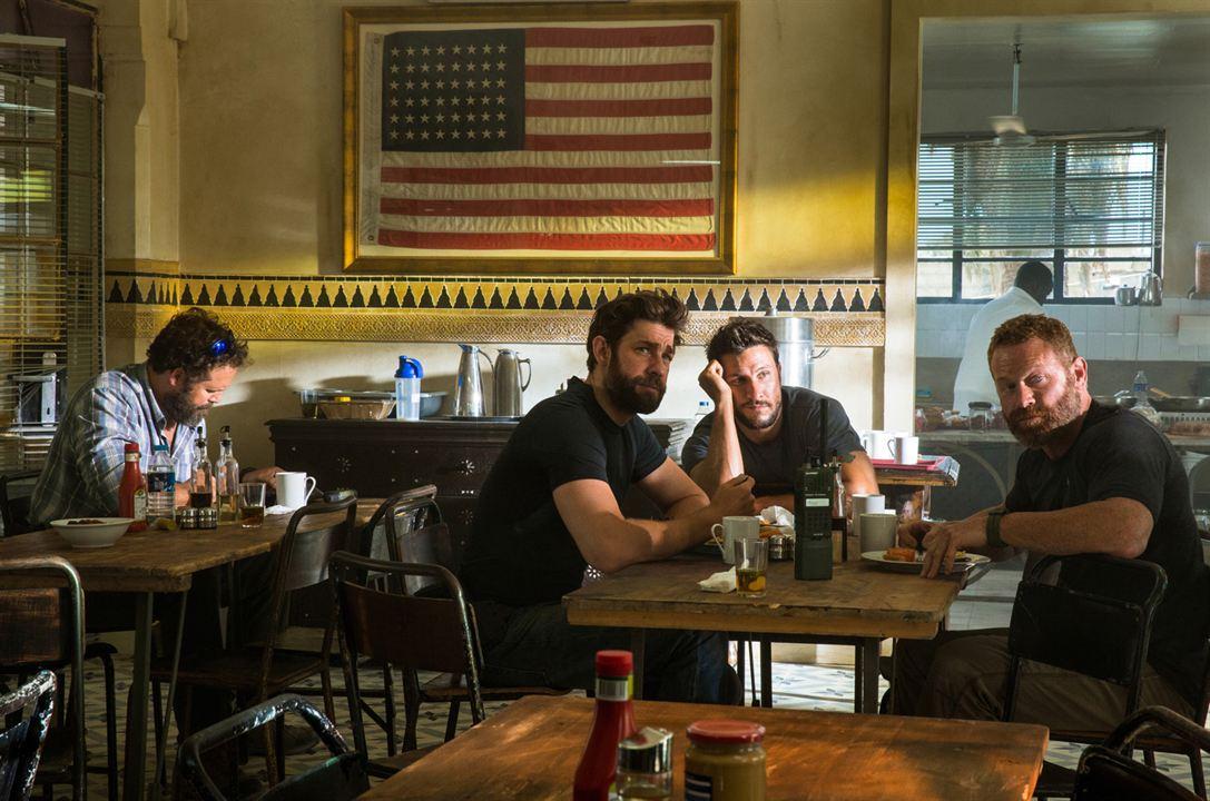 13 Horas: Os Soldados Secretos de Benghazi : Foto David Denman, John Krasinski, Max Martini, Pablo Schreiber