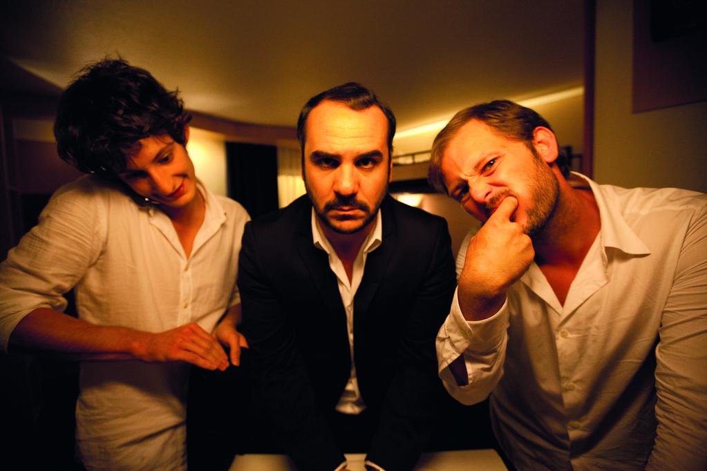 Comme des frères : Photo François-Xavier Demaison, Nicolas Duvauchelle, Pierre Niney