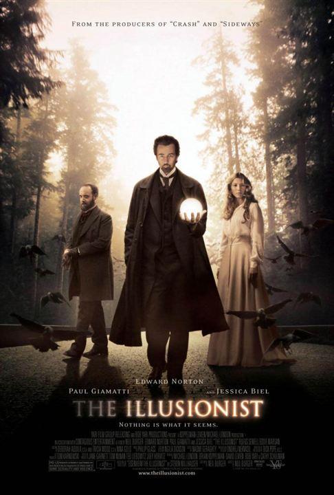 O Ilusionista : Poster
