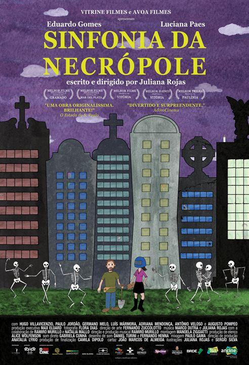 Sinfonia da Necrópole : Poster