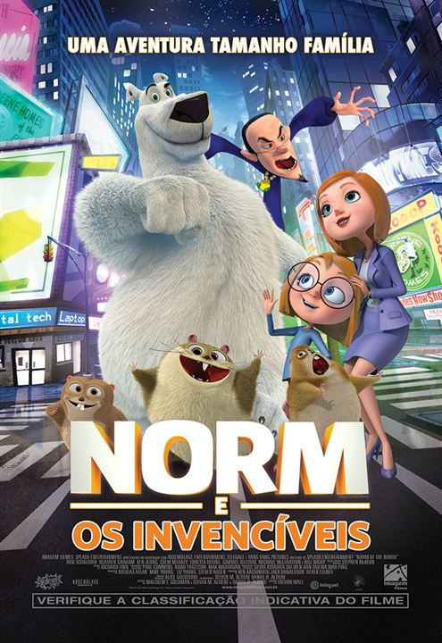 Norm e os Invencíveis : Poster
