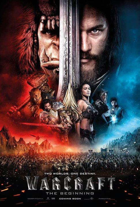 Warcraft - O Primeiro Encontro de Dois Mundos : Poster