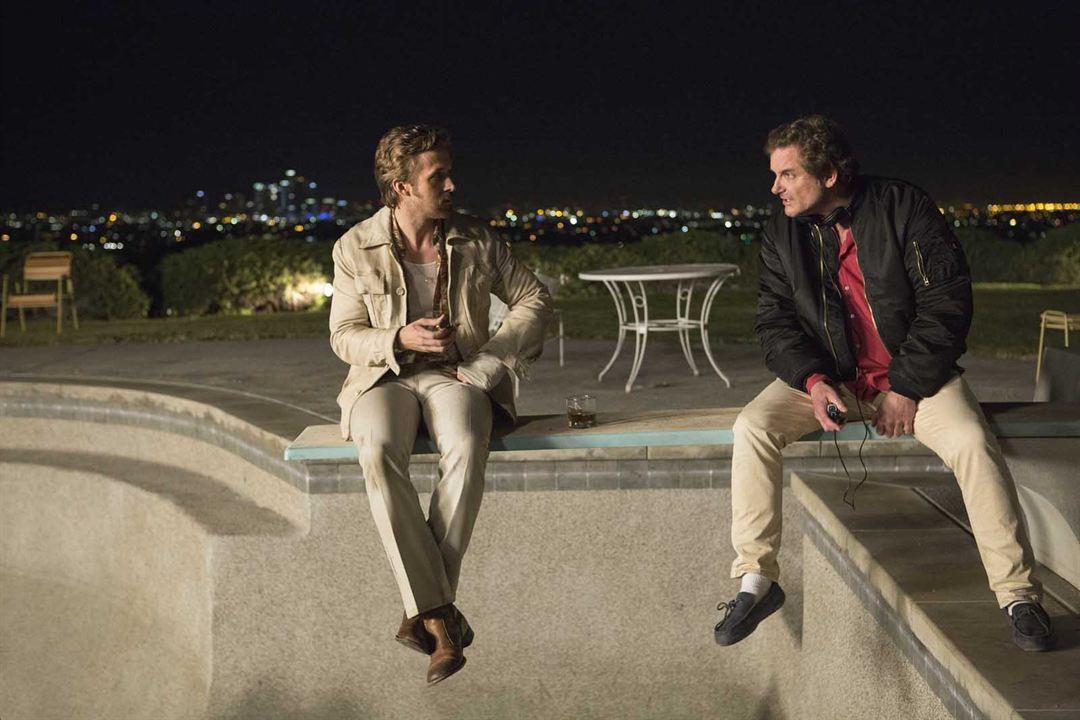 Dois Caras Legais : Foto Ryan Gosling, Shane Black