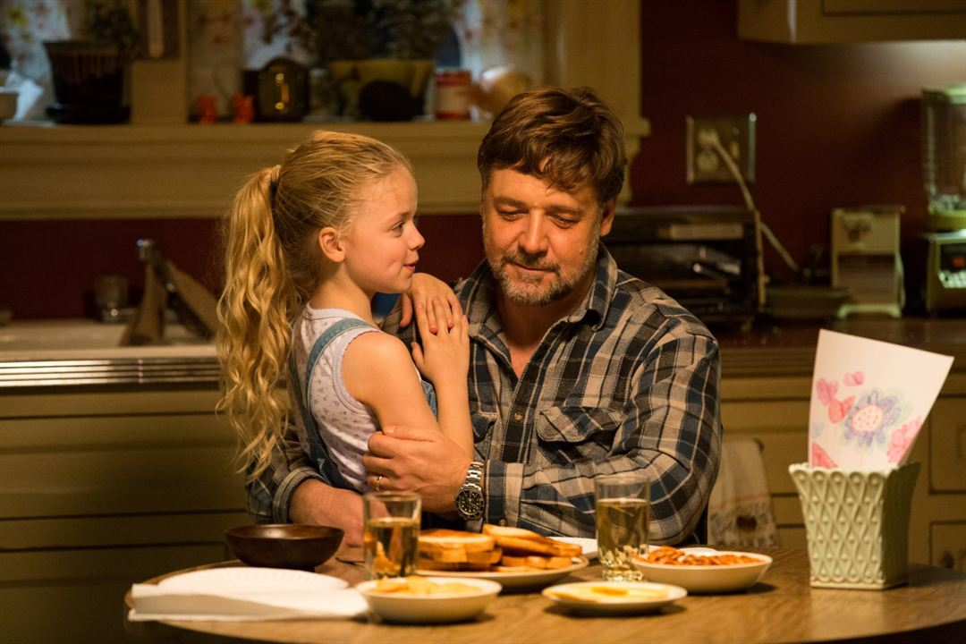 Pais e Filhas : Foto Kylie Rogers, Russell Crowe